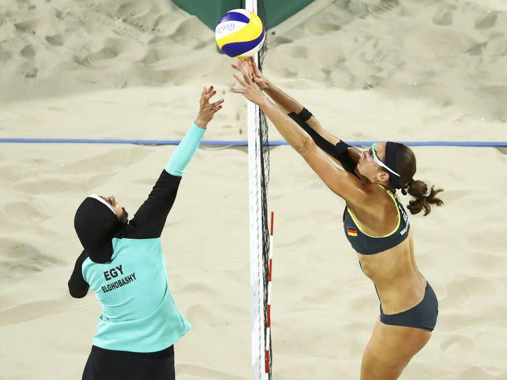 ¿Por qué es noticia la deportista del hiyab y no la del bikini?
