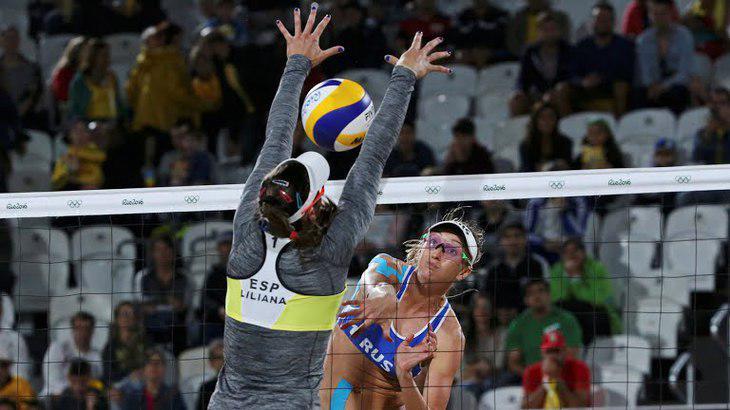 Tapadas hasta el cuello jugaron las deportistas españolas su último partido en Río 2016