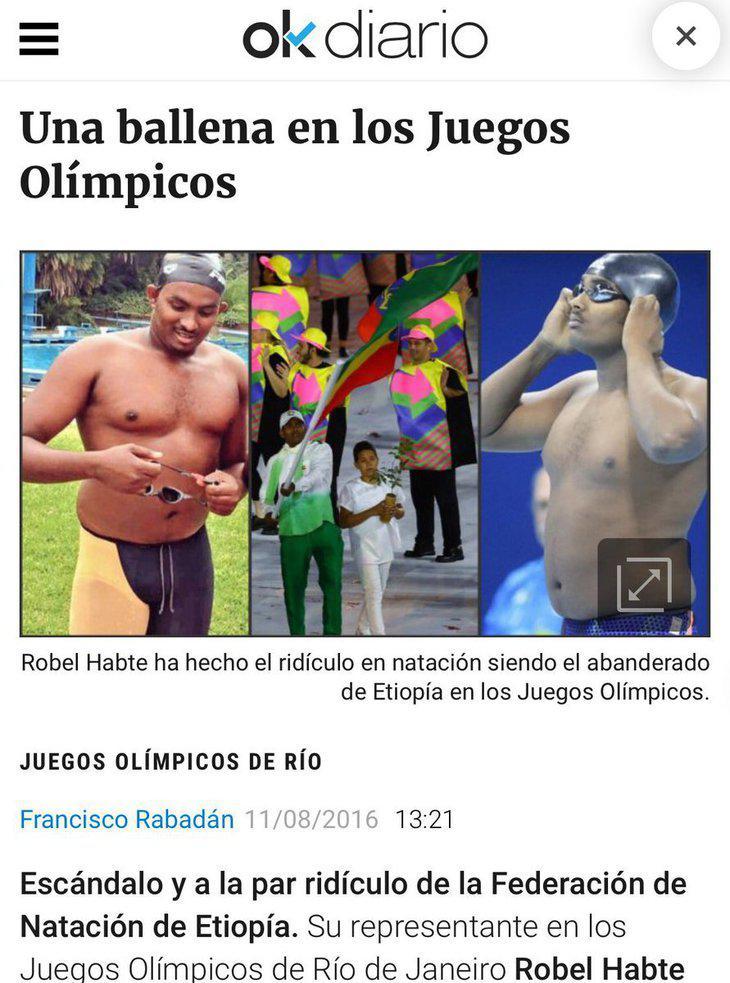 Humillación a quien tan sólo quería popularizar en su país el deporte de sus sueños