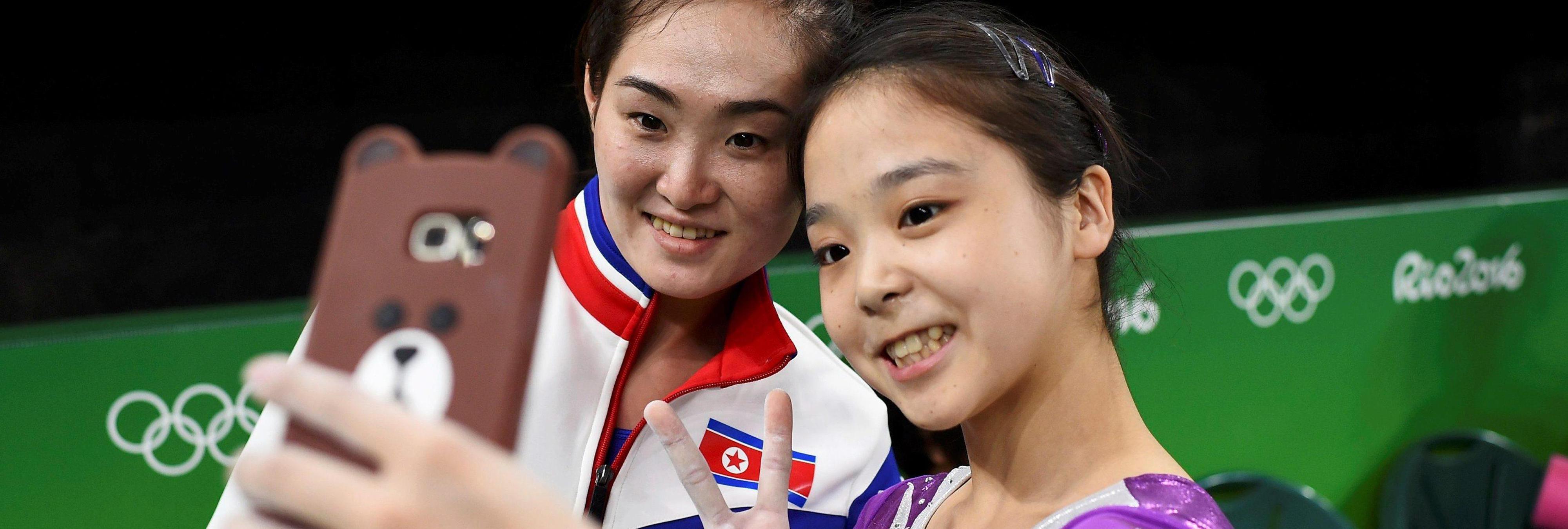 Corea del Norea y del Sur, unidas por Río 2016: El selfie que representa la unión deportiva