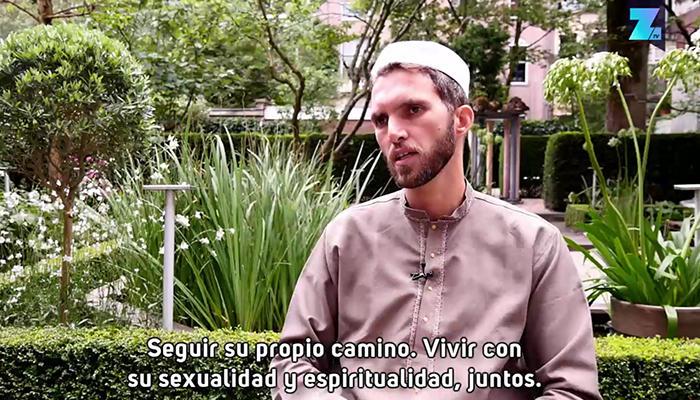 Zahed lucha por hacer comprender que es posible compaginar cualquier sexualidad con la religión