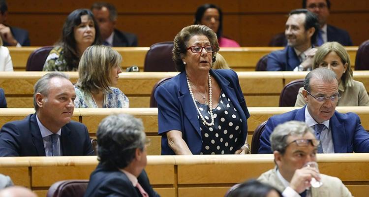 La exalcaldesa de Valencia, en el Senado
