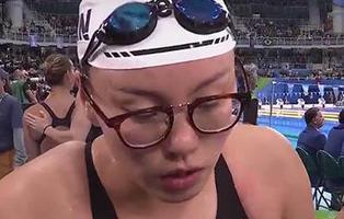 La nadadora Fu Yuanhui vuelve a acaparar las portadas al romper el tabú de la menstruación