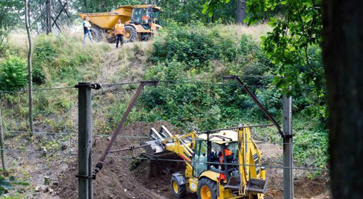 Ya se está excavando en la zona