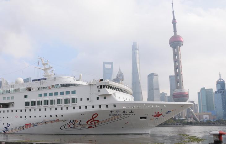 Un crucero en Shanghai
