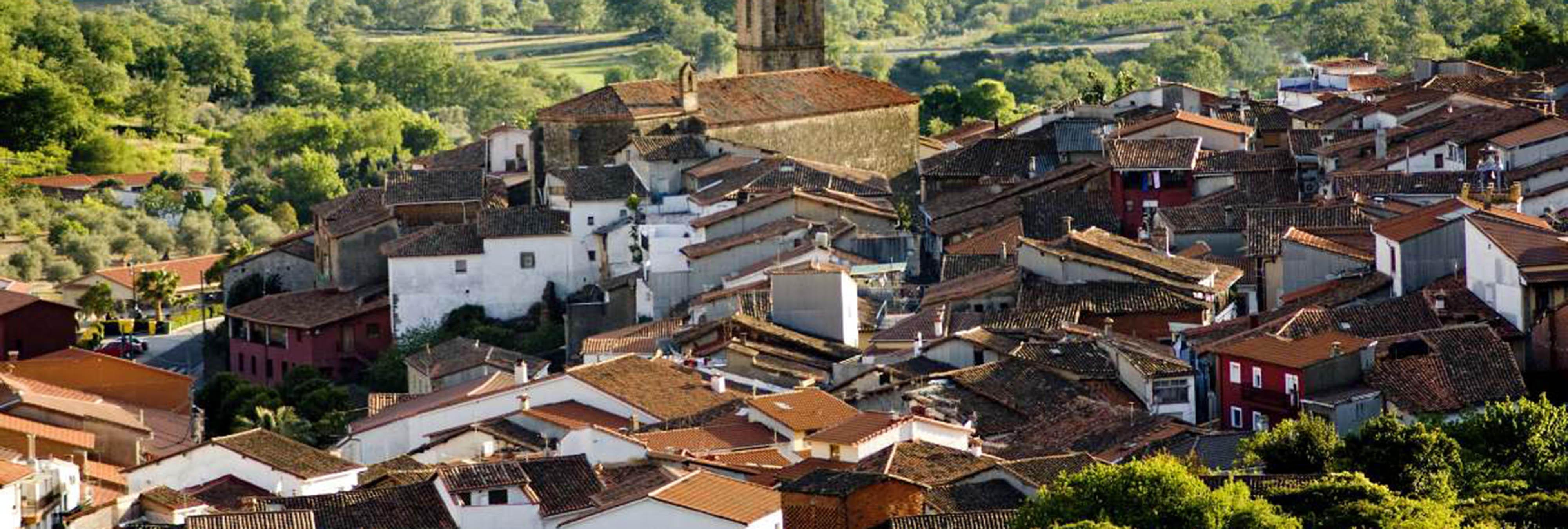 Valverde de la Vera, el pueblo de los parasoles de ganchillo