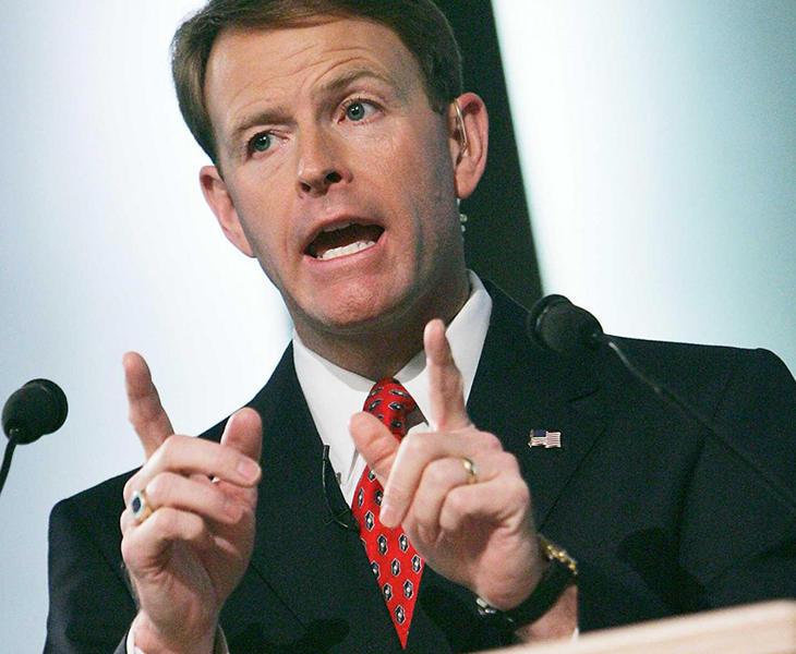 Tony Perkins, líder de un grupo cristiano