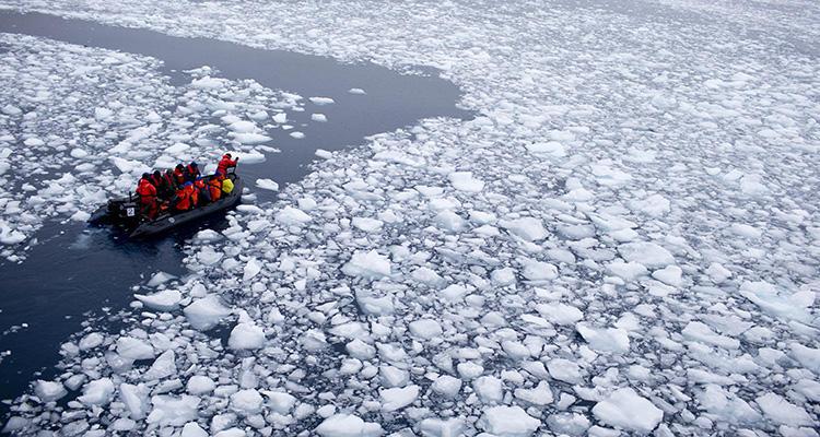 Cada vez hay más aguas navegables en el océano septentrional