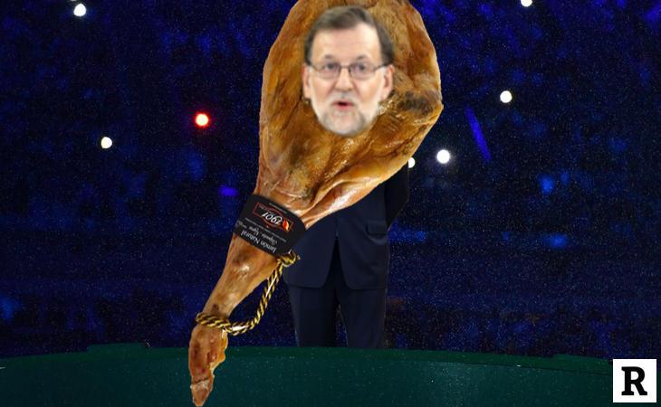 Si Eva Longoria pudo, ¿por qué no Rajoy?