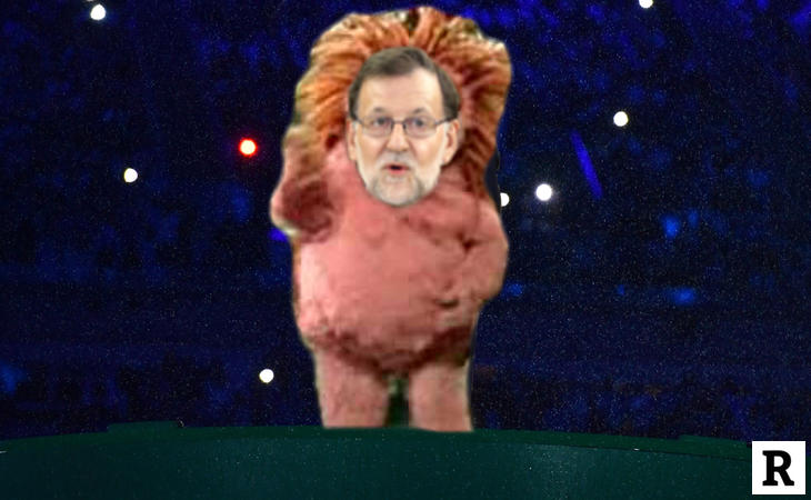 A Rajoy le favorece la cresta