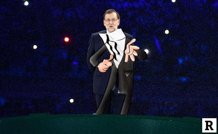 Rajoy, agente de la T.I.A.