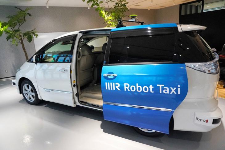 Robot Taxi, el prototipo del taxi sin conductor