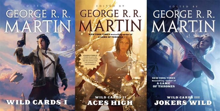 Tres de las más de 20 novelas que componen 'Wild Cards'