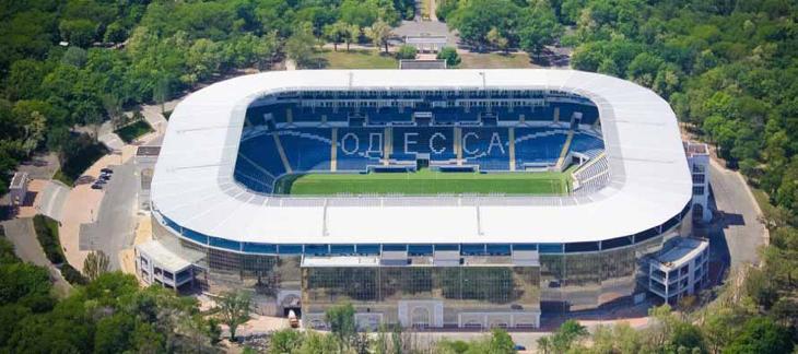 Chornomorets Stadium, el estadio que albergaría el ESC 2017