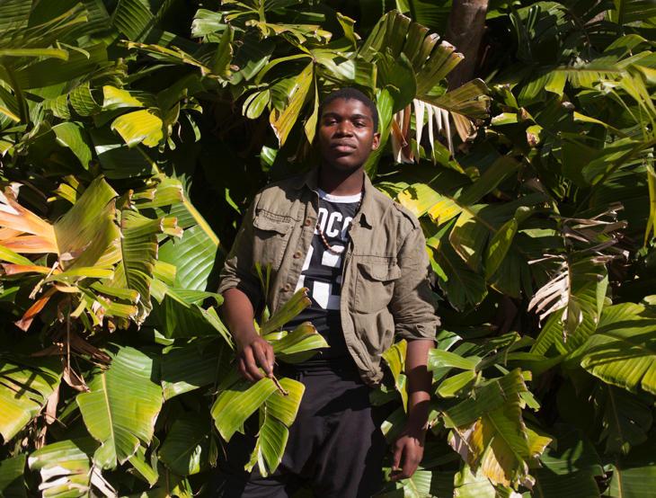 Mvelsi, un joven de Cape Town, Sudáfrica
