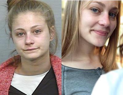 Una chica ofrece a los medios una foto mejor de ella misma para anunciar su escapada de un correccional