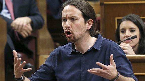 Iglesias: 'Usted, que representa un partido fundado por ministros de una dictadura'