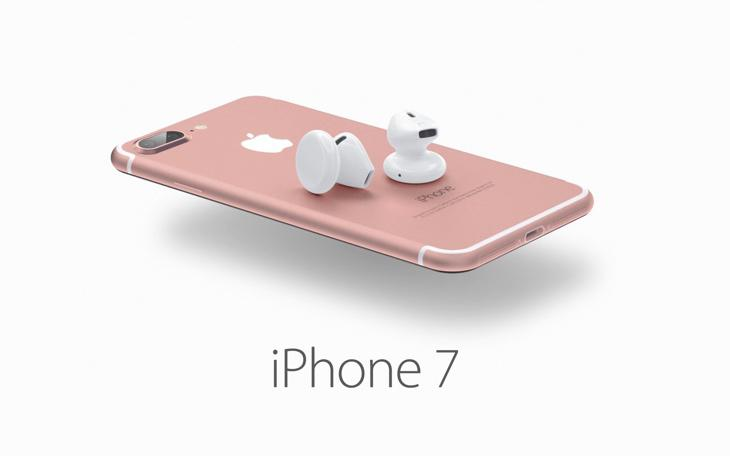 El iPhone 7 con los posibles auriculares inalámbricos (Tierra Gamer)