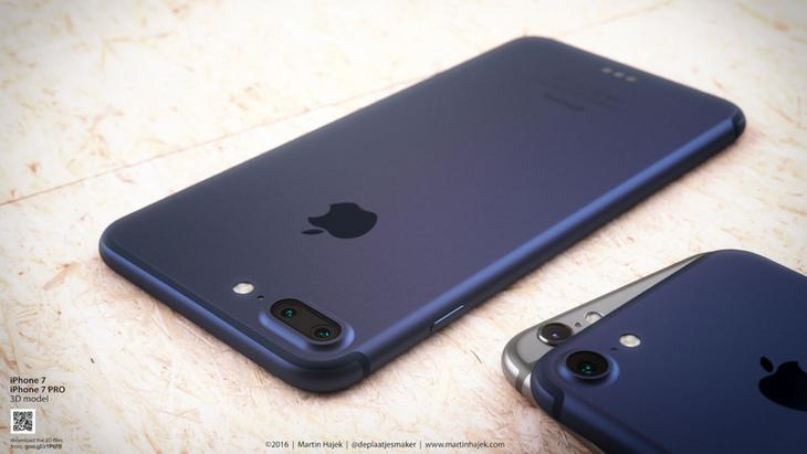 Un modelo de iPhone 7 con cámara dual (Movil Arena)