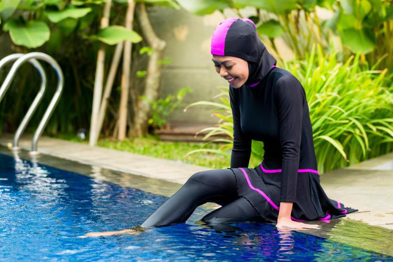 El burkini ha permitido a las mujeres musulmanas disfrutar de la playa
