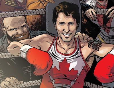 Justin Trudeau, primer ministro de Canadá, la nueva estrella de Marvel