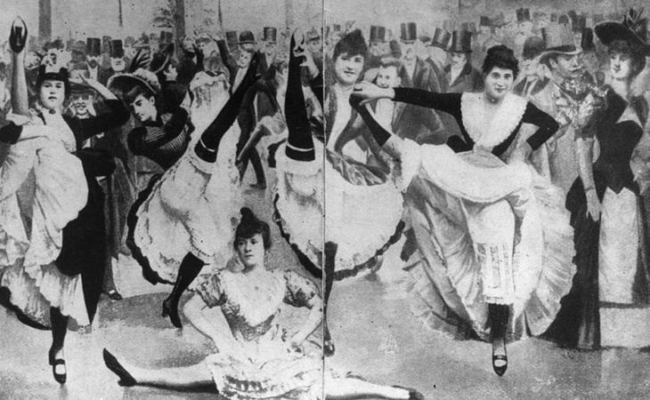 La historia de la ropa interior femenina está ligada a las bailarinas de can-can