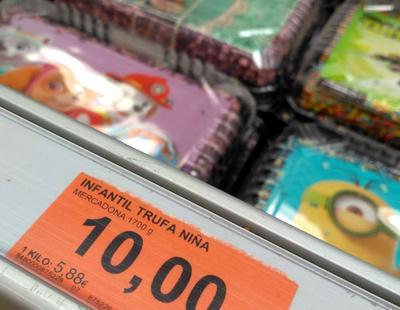 Mercadona, en el ojo del huracán por una tarta 'para niñas'