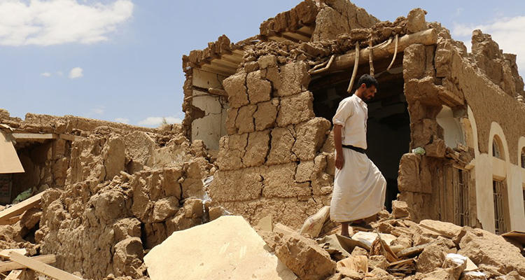 La guerra de Yemen ha provocado que millones de personas pierdan su hogar