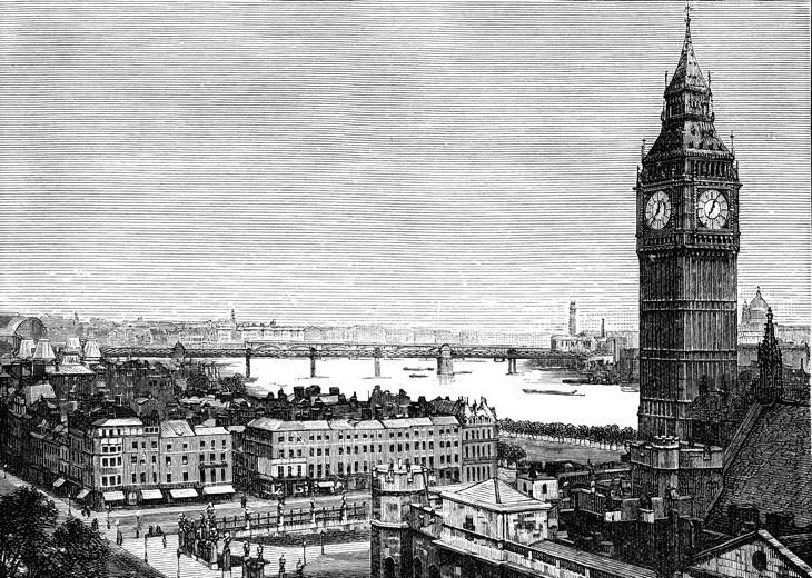 El Big Ben comenzó a sonar el 7 de septiembre de hace 157 años