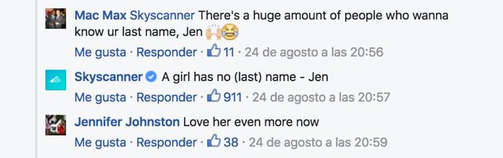 A girl has no (last) name