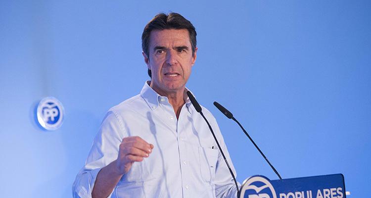 José Manuel Soria en un acto del Partido Popular