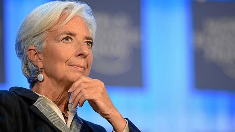 Christine Lagarde, actual directora gerente del FMI
