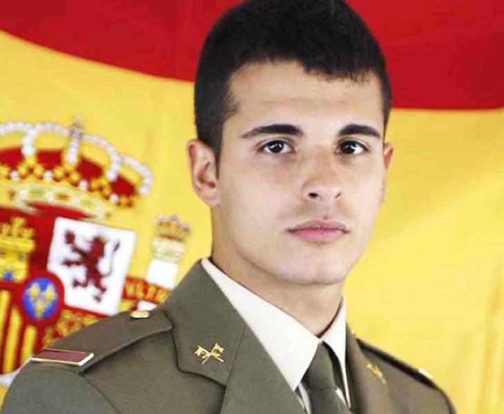 Aarón Vidal, militar español fallecido