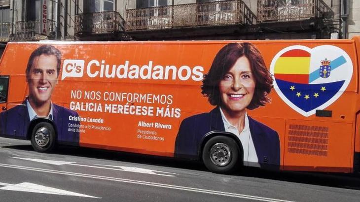 El autobús de la polémica