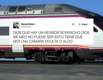 La odisea del tren de Osorno relatada en unos divertidos tweets