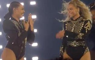 Beyoncé interrumpe su concierto para que su bailarina deje de ser una 'single lady'