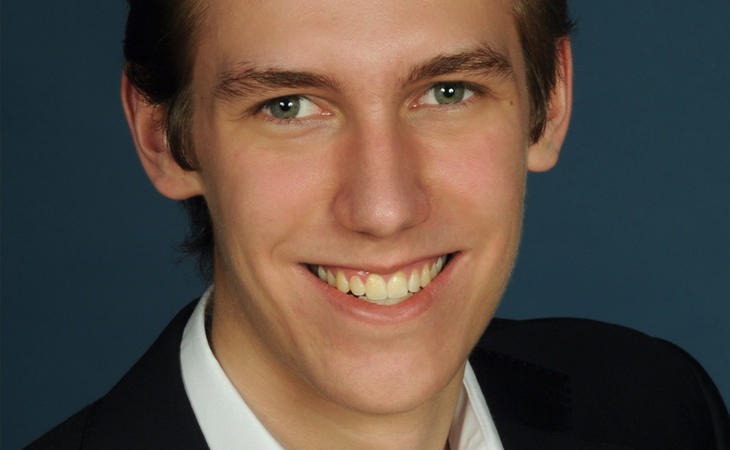 Foto de Dustin Hoffmann en la web de la CDU
