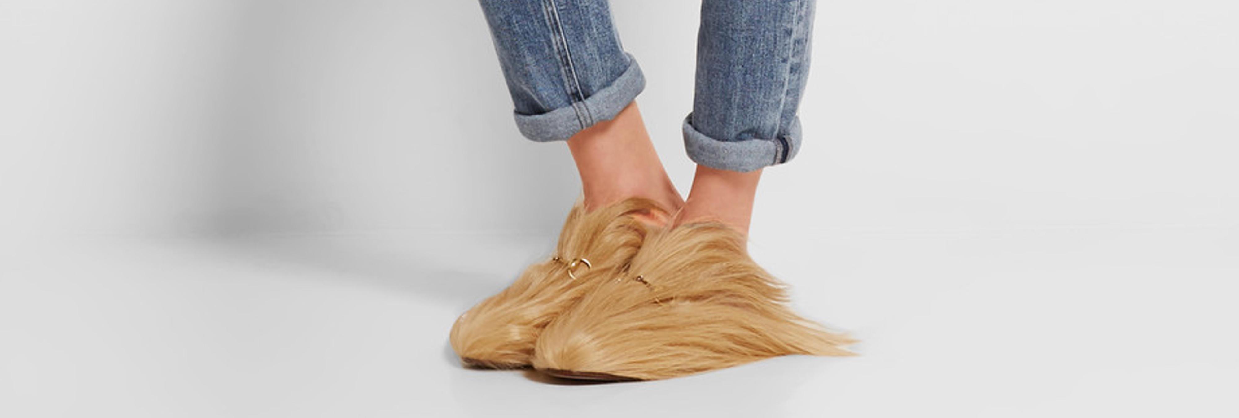 Gucci diseña unos zapatos para que lleves el pelazo de Trump a tus pies