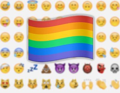 El emoji de la bandera LGTB ya está disponible: Esto es lo que tienes que hacer para utilizarlo