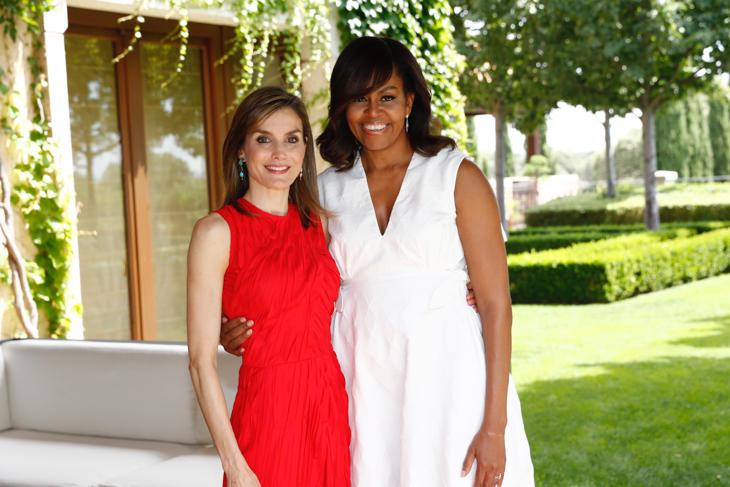Letizia y Michelle, amigas y conocidas