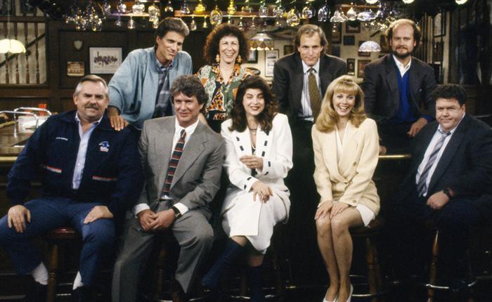 'Cheers' obtuvo una nominación a mejor comedia sus once temporadas consecutivas