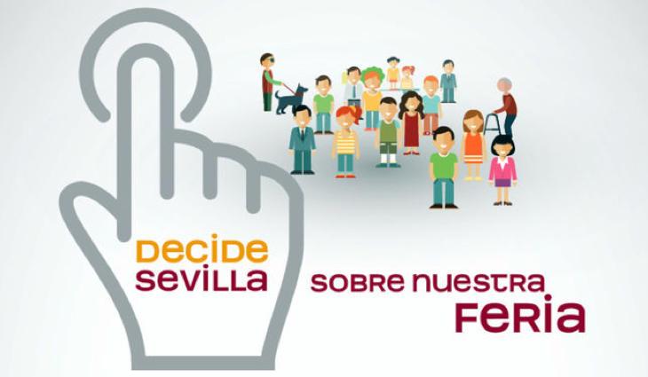 Decide Sevilla, la plataforma para votar sobre la Feria de Abril