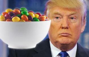 Trump ha comparado a los refugiados con Skittles con una imagen que esconde la historia de un inmigrante