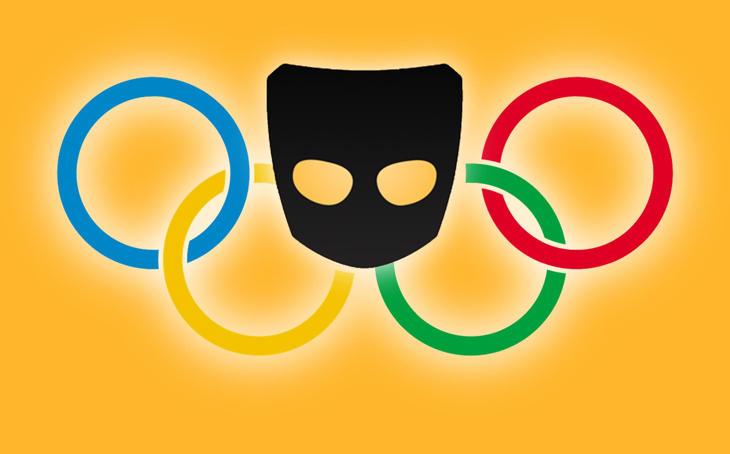 Grindr desveló las estadísticas de uso durante Río 2016