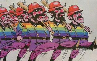 Un periódico de Australia compara al colectivo LGTB con los nazis en una ilustración