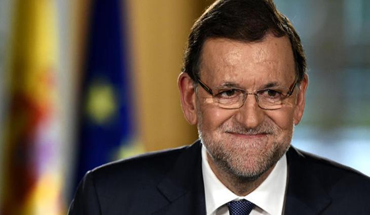 El candidato a la presidencia Mariano Rajoy