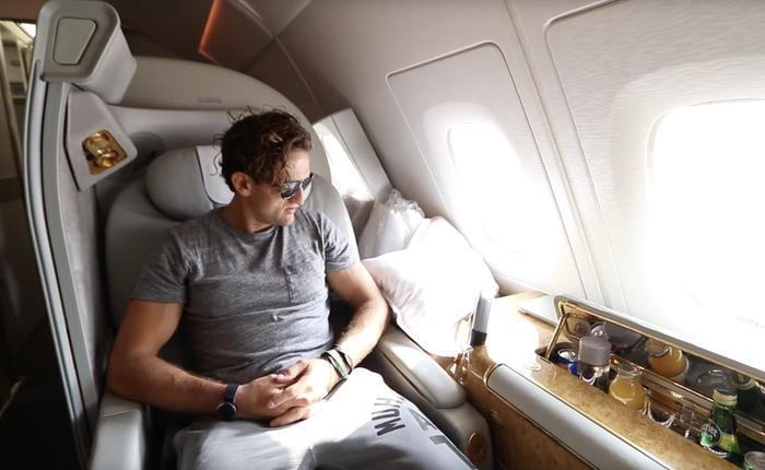 La cabina está totalmente informatizada para no tener que moverse del asiento