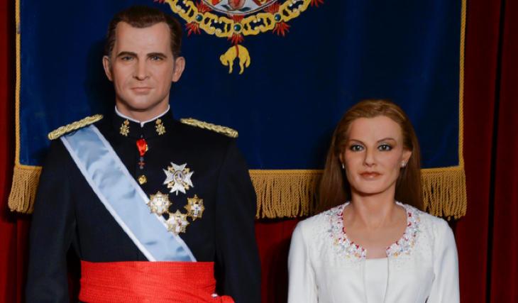 Letizia tenía la mirada perdida, como ausente
