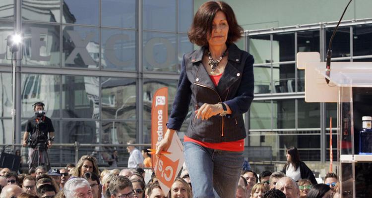 Cristina Losada, candidata de Ciudadanos en Galicia