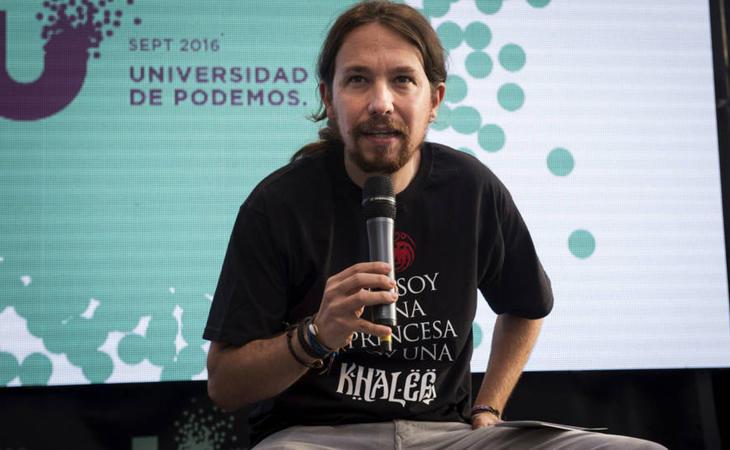 Pablo Iglesias no es una princesa, es una khaleesi (EFE)